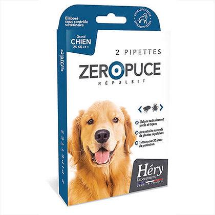 Pipette grand chien zéro puce - Héry