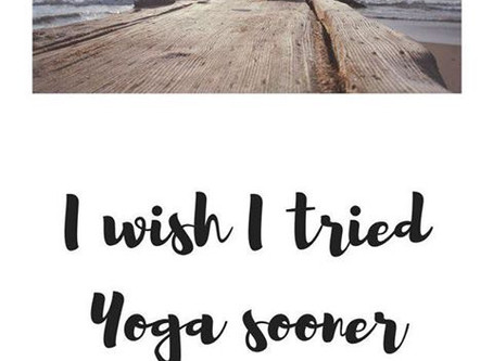 Yoga Schedule: November 2018