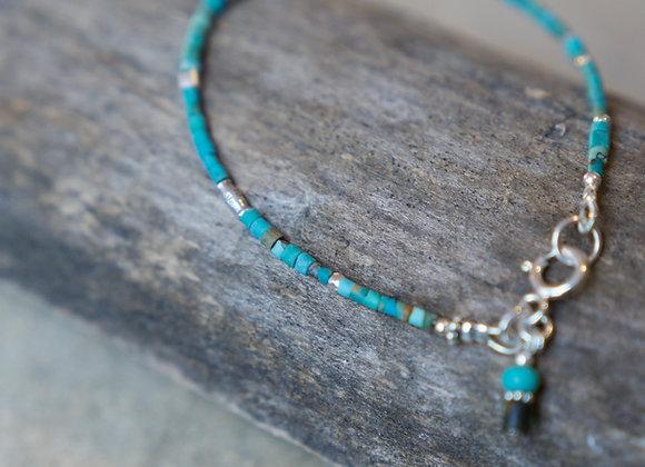 Armband | Türkis mit Silber