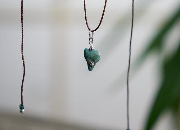Halskette | Türkis Anhänger