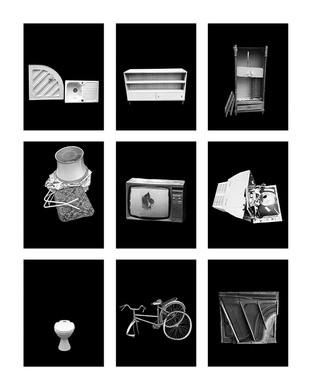 ©Gaëlle Abravanel, Les Objets 2, série Portrait des Encombrants 2020