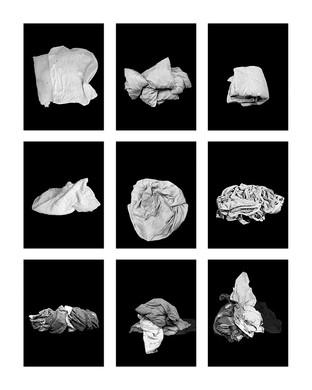 ©Gaëlle Abravanel, Les Tissus, série Portrait des Encombrants 2020