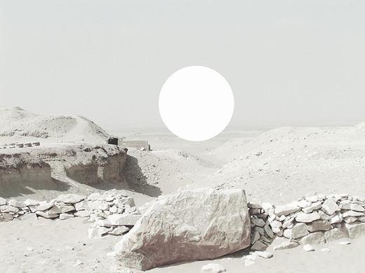 ©Gaëlle Abravanel, Le cercle du désert, série Nouveaux Paysages 2020