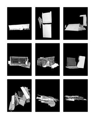 ©Gaëlle Abravanel, Les Cassés 2, série Portrait des Encombrants 2020