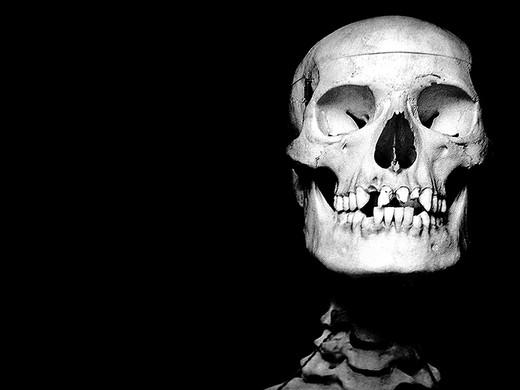 ©Gaëlle Abravanel, Tête de mort, série Chap 1-1 2020