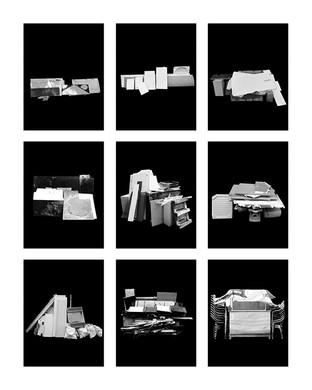 ©Gaëlle Abravanel, Les Insatallations 4, série Portrait des Encombrants 2020