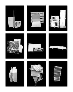 ©Gaëlle Abravanel, Les Entassés 1, série Portrait des Encombrants 2020