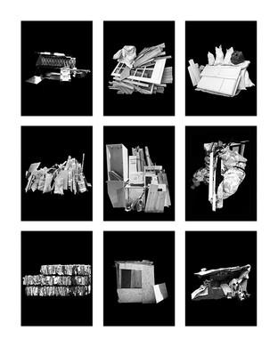 ©Gaëlle Abravanel, Les Installations 3, série Portrait des Encombrants 2020