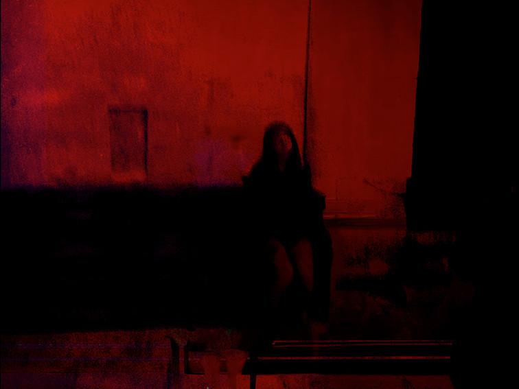 ©Gaëlle Abravanel, La Fille rouge, série Ligne de Faille Chap 2-1 2020