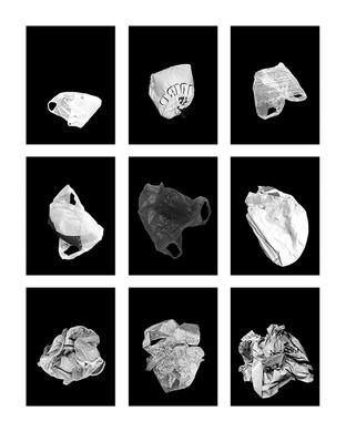©Gaëlle Abravanel, Les Plastiques, série Portrait des Encombrants 2020
