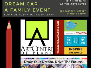 Toyota Dream Car; Draw Your Dream. Drive The Future.