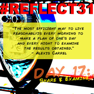 #REFELECT31 Day 17: