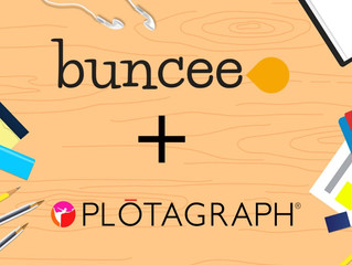 App Smashing Buncee + Plotograph