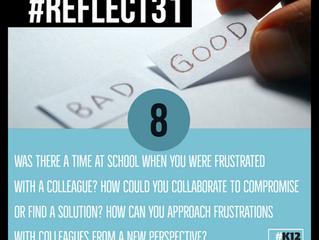 #Reflect31 Week 2;  August 9-16, 2021
