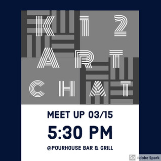 NAEA 2019 & the 4th Annual #K12ArtChat Meet Up!