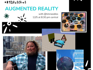 Augmented Reality, Tech, Art and STEAM