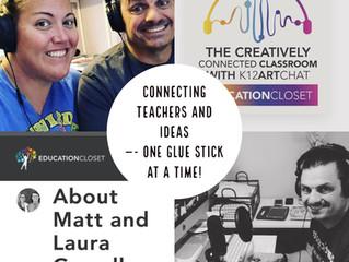 Growing into #CreativelyConnectedEdu