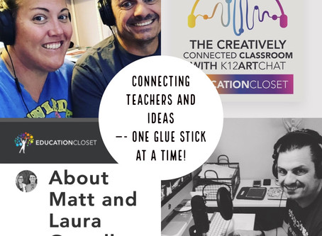 Growing into #CreativelyConnectedEdu