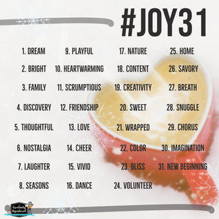 December is for JOY #Joy 31
