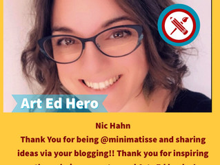The #heART_Ed Challenge                           - Who inspires you?