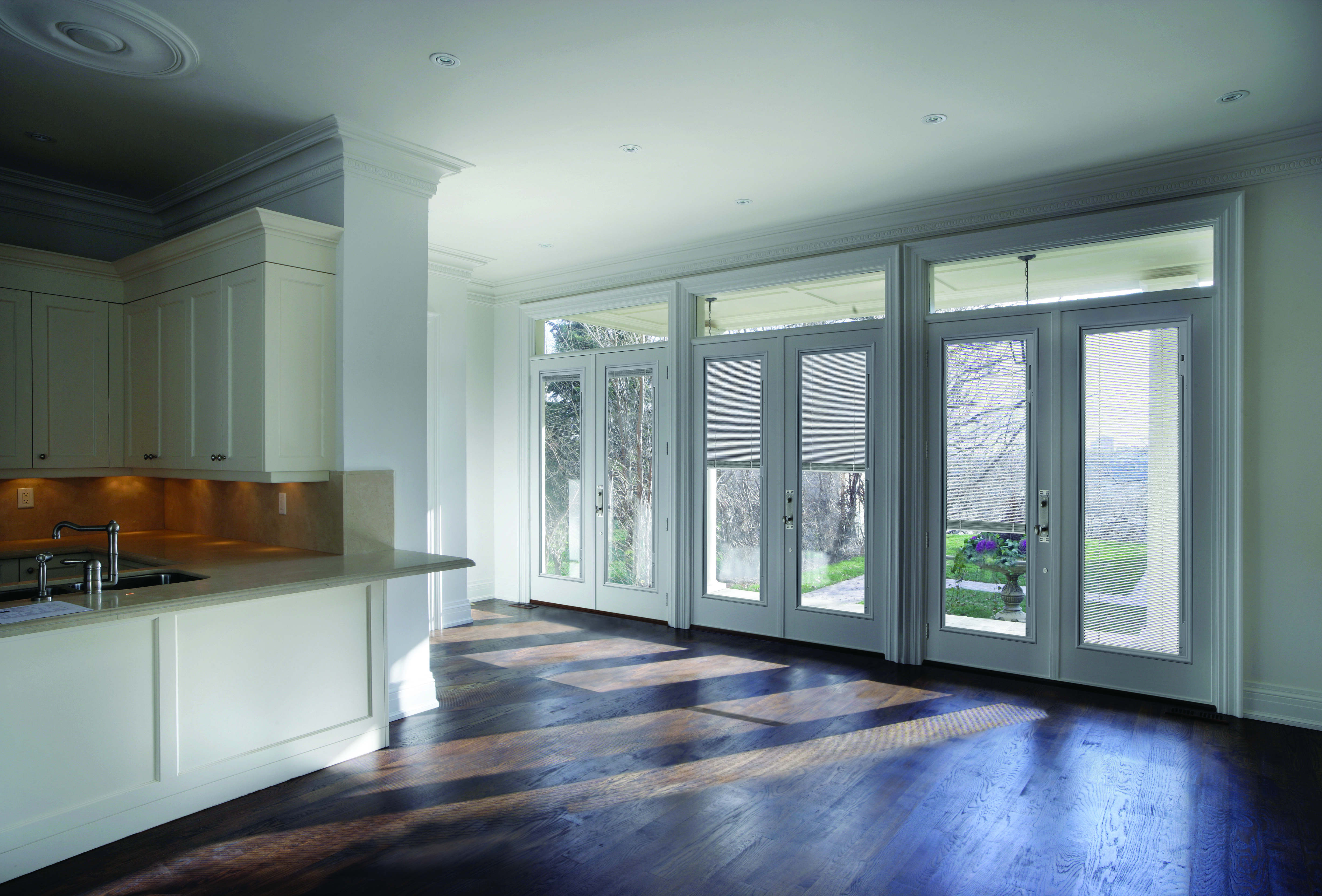 ODL Doors with Mini Blind Insert