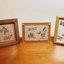 馬糞(ボロ)で紙を作る、馬糞ペーパー