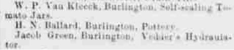 h n ballard burlngton pottery