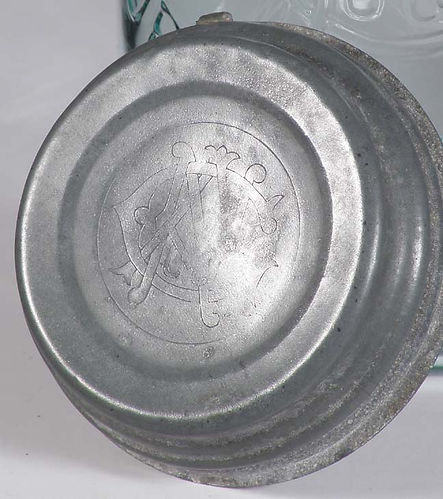 the american porcelain lined lid