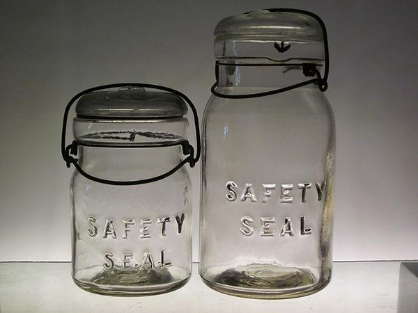 safety seal jar