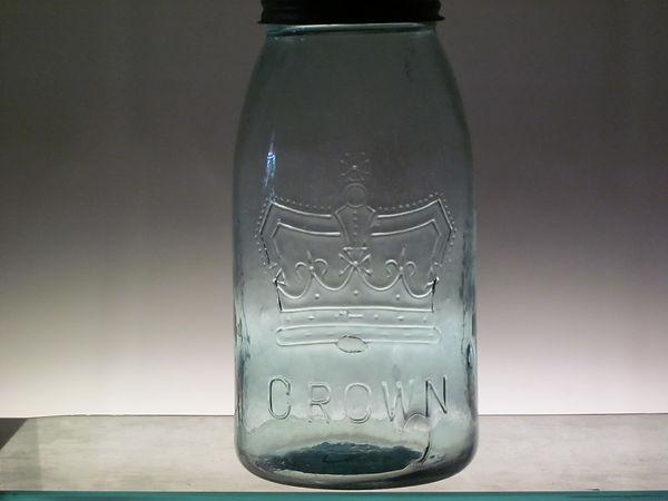 ring crown fruit jar