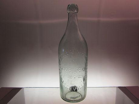 brockville pilgram soda water bottle