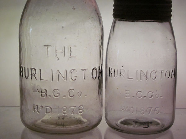 the burlington fruit jar
