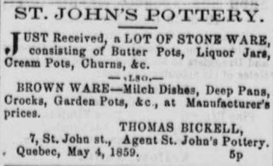 st johns pottery