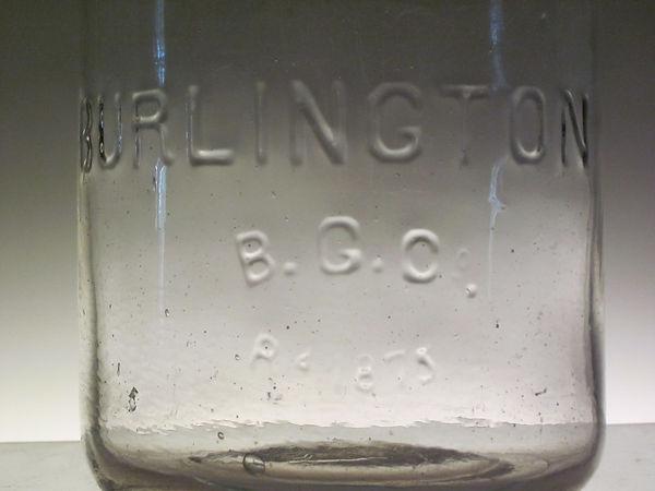the burlington fruit jar