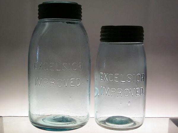 excelsior improved fruit jar
