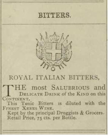 royal italian bitters