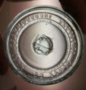 excelsior glass co fruit jar lid