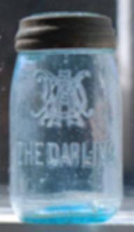 the darling pint fruit jar