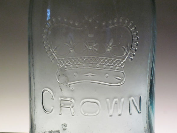 high x band crown fruit jar