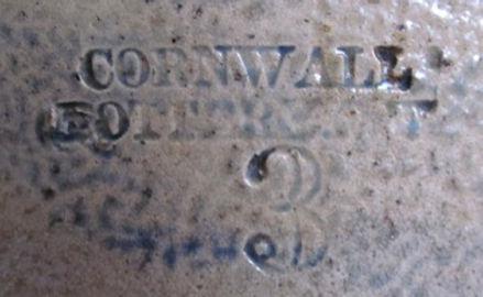 cornwall pottery cornwall cw