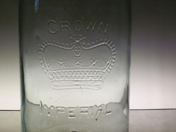 christian crown fruit jar