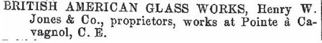 british american glass works