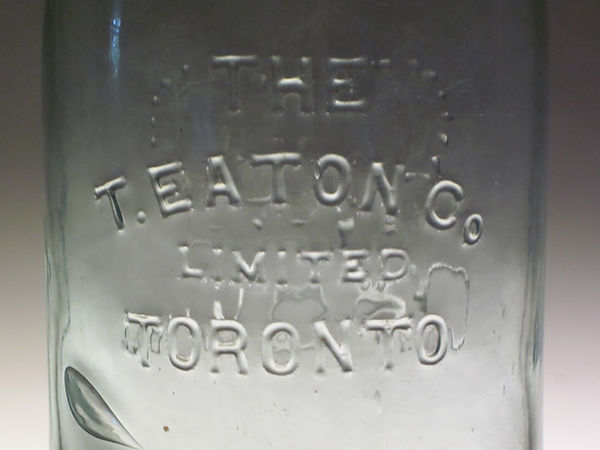 t eaton toronto fruit jar