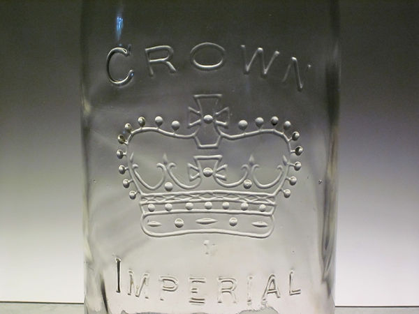imperial half gallon fruit jar