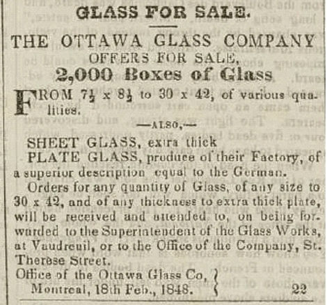 ottawa glass company