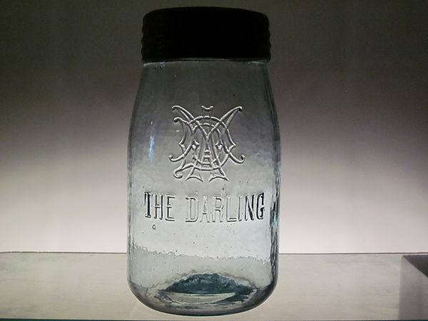 the darling quart fruit jar