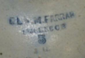 7B -E L & M Farrar with Initials JG 001