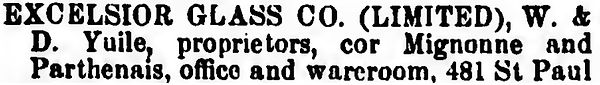 excelsior glass company