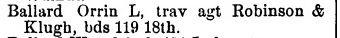 o l ballard burlington