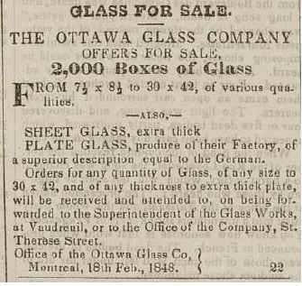 ottawa glass company vaudreuil